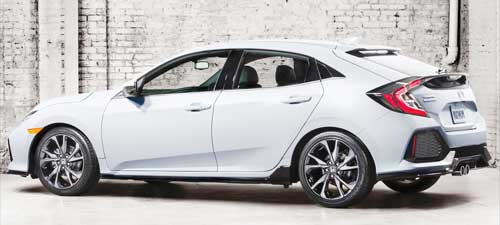 2017 Honda Civic Hatchback lineup Sell in US
