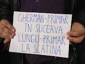 Gherman, primar în Suceava, Lungu, primar în Slatina - Protest împotriva distrugerii spaţiilor verzi din Suceava