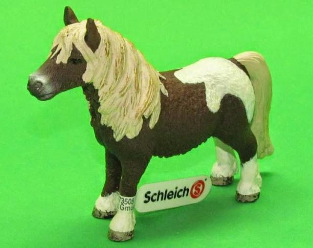 Đồ chơi Mô hình Ngựa đực Shetland Pony Gelding được sơn vẽ thủ công rất tỷ mỉ, màu sắc bắt mắt