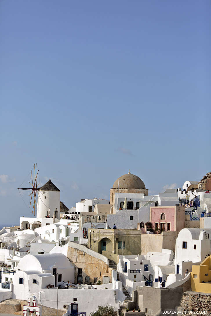 Santorini Pictures from Oia Castle.