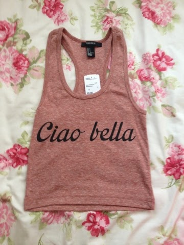 Ciao Bella crop top