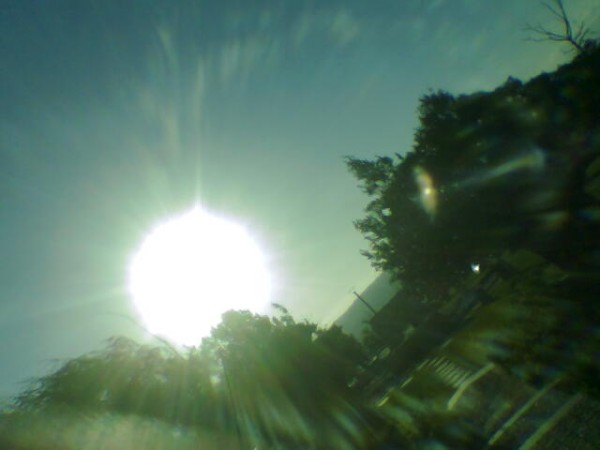 sun again..