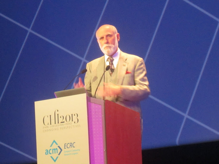 Vint Cerf at the Podium