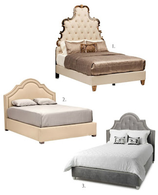 Luxury Upholstered Headboard u Bed Frame