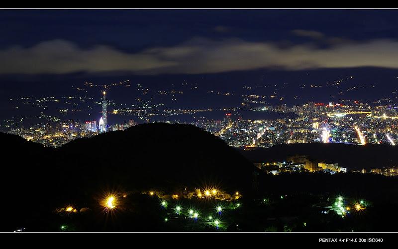 陽明山夜景  4P