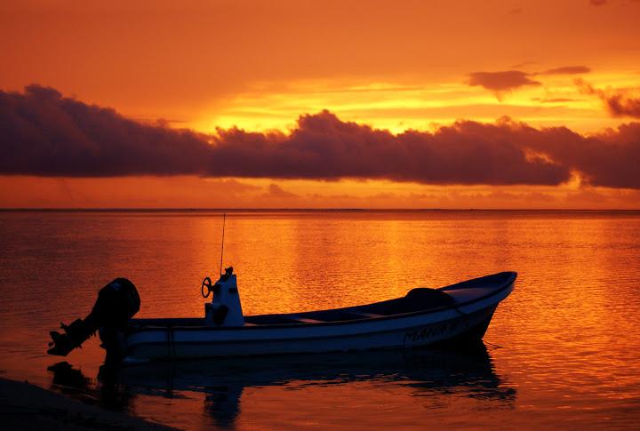 Sunset Robinson Island, Fiji