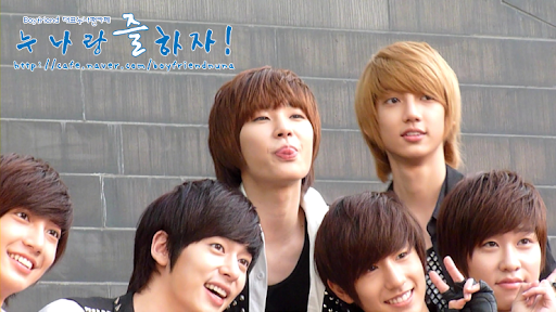 Foto Personil Boyfriend Boyband Korea
