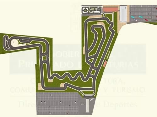 Circuito Fernando Alonso Oviedo : Ckrc championship kart renting castilla karting alonso será
