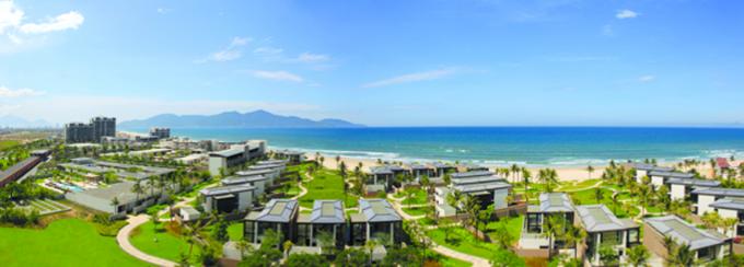 toan canh khu nghi duong cao cap Hyatt Regency Danang Resort & Spa