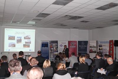 O innowacyjności zastosowania biometanu do zasilania pojazdów dowiedzieliśmy się z prezentacji dr. inż. Wojciecha Gisa (ITS)