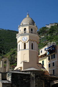 Clock Tower in Vernazza
