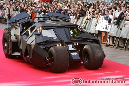 Mobil Batman Begins The Dark Knight dan The Dark Knight Rises