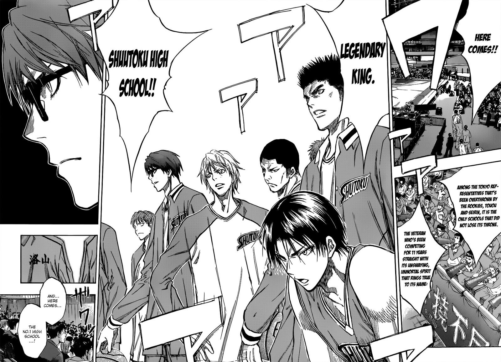 Kuroko no Basket Manga Chapter 175 - Image 04-05