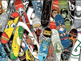 Skate Board Decks Wallpaper - free download wallpapers