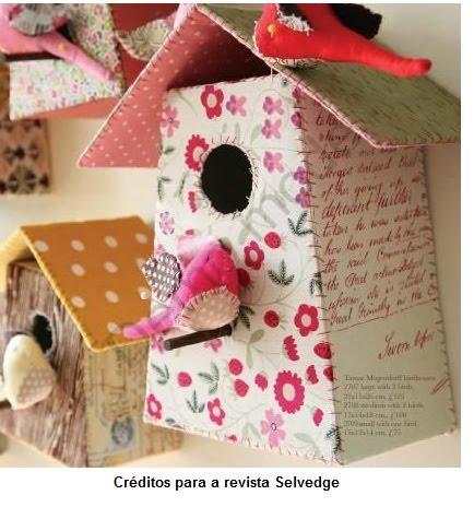 Blog de goanna casita de p jaros en patchwork - Casita para pajaros ...