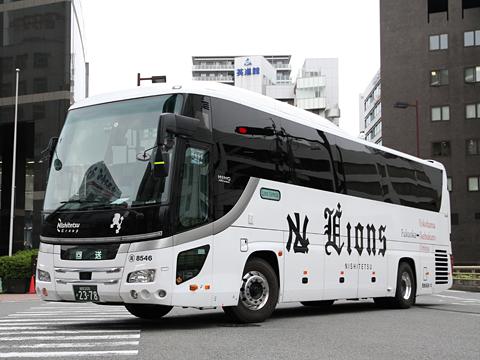 西鉄高速バス「Lions Express」 8546(H26.06.23)