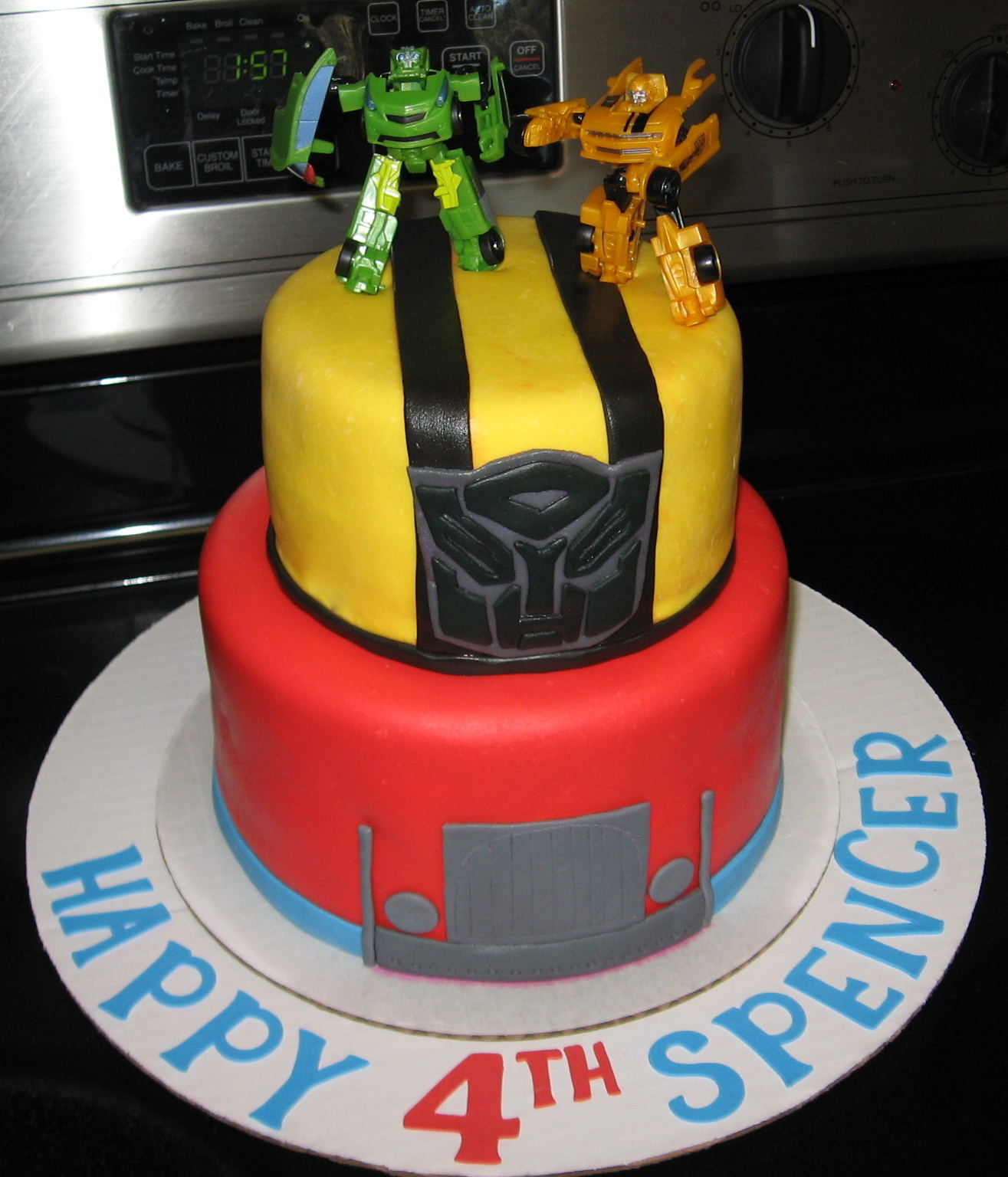 BeNi Cakes Transformer Cake