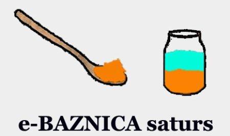 Satura maiņa e-projektā e-BAZNICA