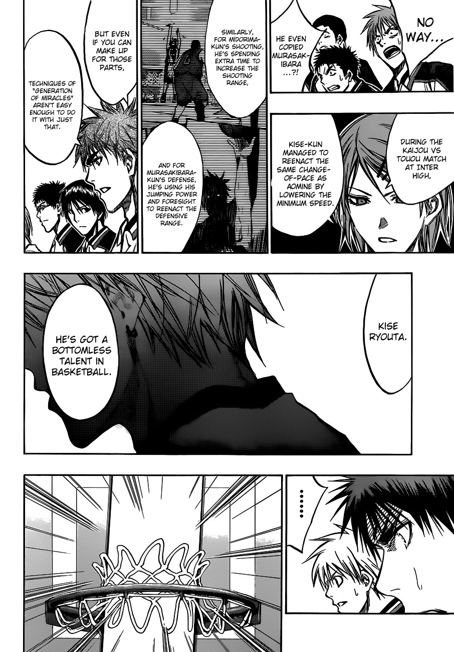 Kuroko no Basket Manga Chapter 173 - Image 06