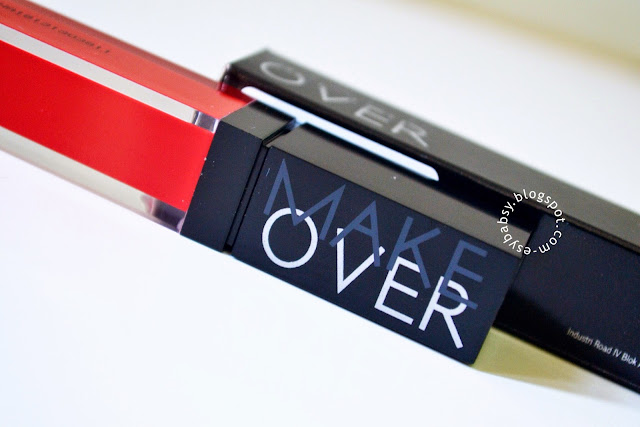 Esy Beauty Blog: Review: Make Over Liquid Lip Color (Red