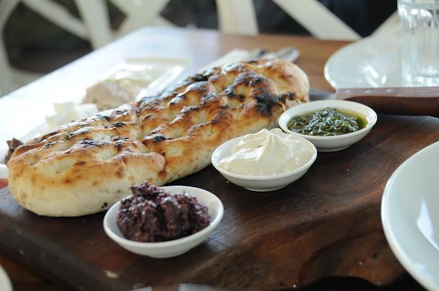 bread, lerner restaurant, Jerusalem