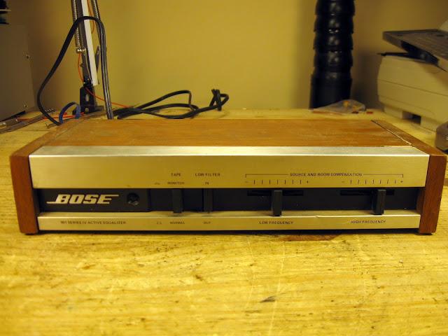 bose 901 series iv equalizer manual