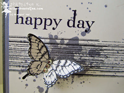 stampin up, butterfly, papillon potpourri, happy day, birthday, gorgeous grunge, sonnenschein, schmetterling