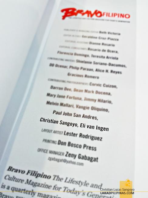 Lakad Pilipinas at Bravo Filipino Magazine