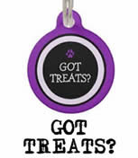 Got Treats Two Sided Custom Dog ID Tag