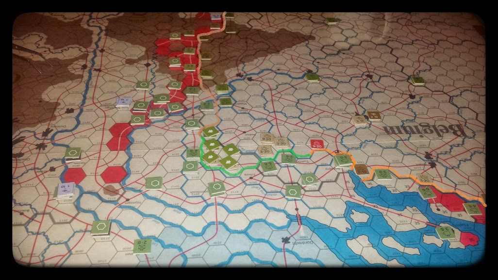 Road to the Rhine - end of 1st impulse