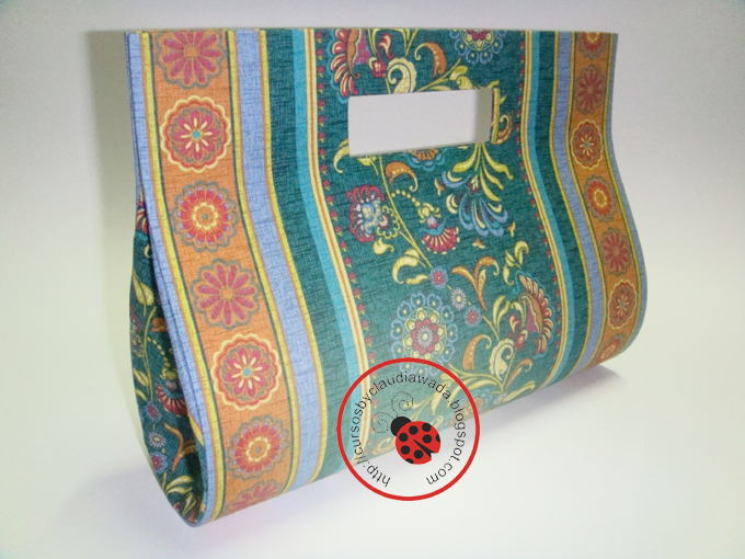 Bolsa Feita Em Cartonagem : Cursos by claudia wada bolsa em cartonagem modelo gabriela