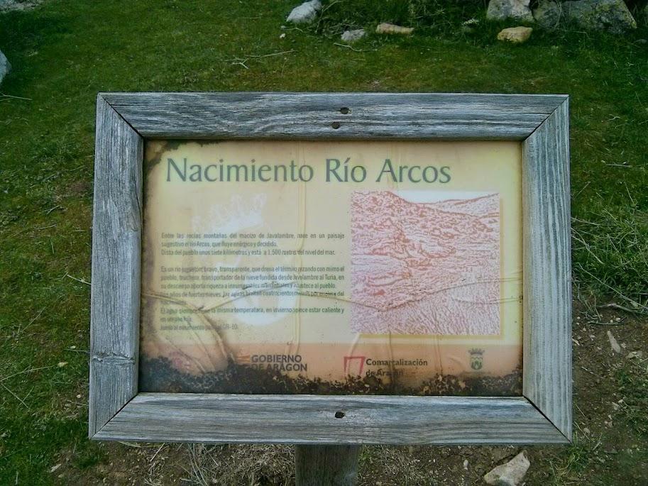 Nacimiento río Arcos