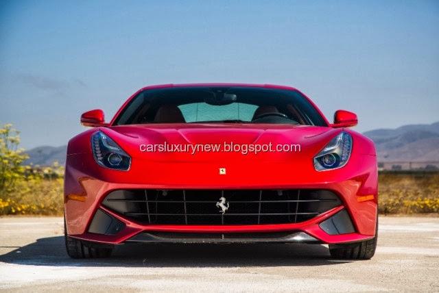 2014 Ferrari F12 Berlinetta Rear View