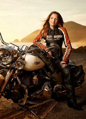 Harley-Davidson vs. Mulher