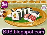 لعبة طبخ السوشي الياباني اللذيذ