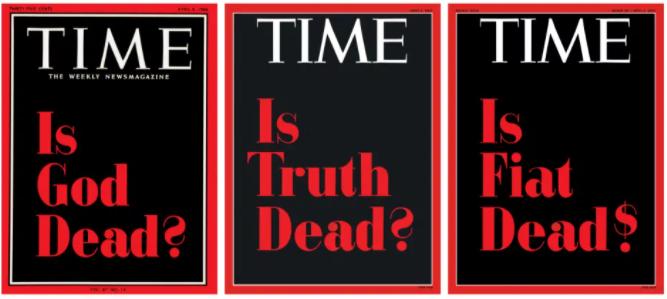 Выставленные на продажу обложки журнала Time.