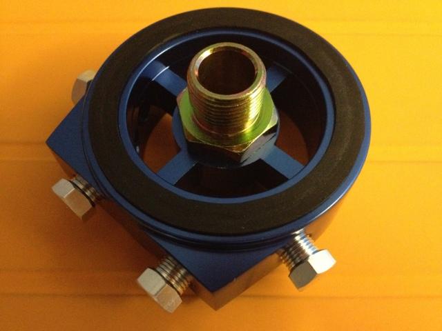 Oil Filter Sandwich plate (for sensors) - MX-5 Miata Forum