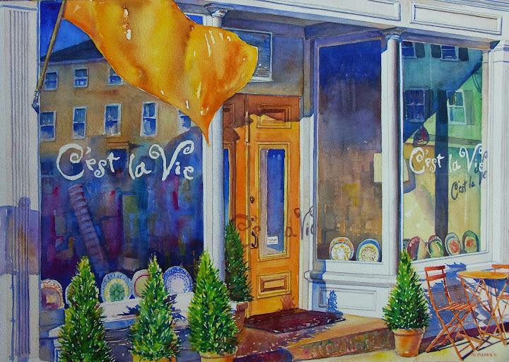C'est la vie. Artist of the Month: Paul McMahan