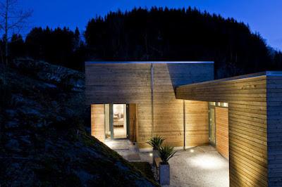 Cabin GJ 9 in Norway 11 1 Kabin Mungil Yang Beradaptasi Dengan Keadaan Lingkungan