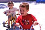 LePort Montessori Preschool Toddler Program Irvine Spectrum - kids riding tricycles
