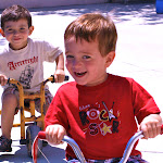 LePort Montessori Preschool Toddler Program Irvine Spectrum - kids riding tricycles