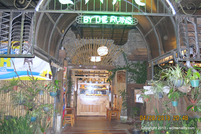 Entrance Cafe by the Ruins