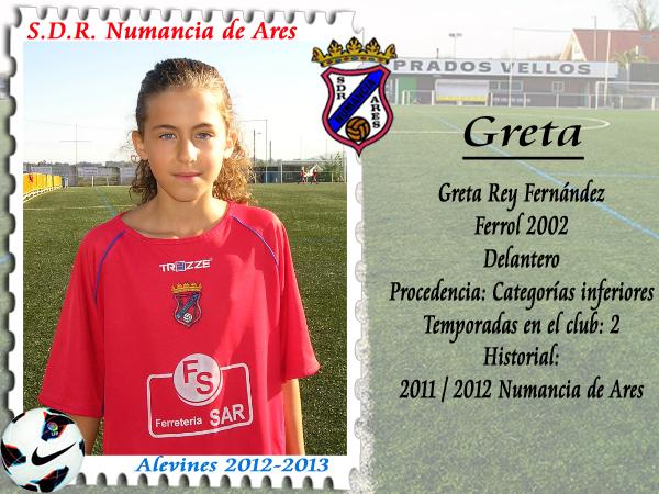 ADR Numancia de Ares. Greta.