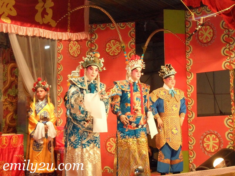 Nine Emperor Gods Chinese Opera @ Tow Boh Keong, Ipoh