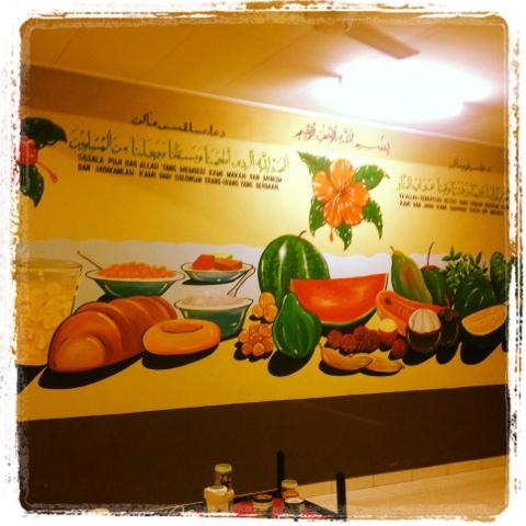 Pelukis mural shah alam jom makan buah for Mural sekolah rendah