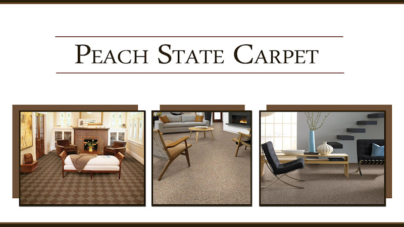 Carpet Atlanta GA Peach State Carpet Logo