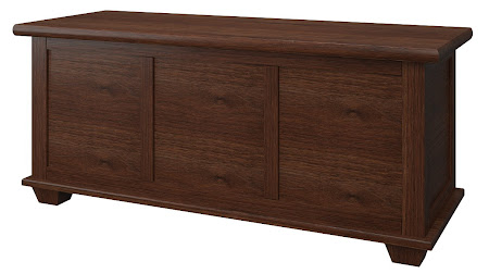 Matching Furniture Piece: Monrovia Cedar Chest in Temperance Walnut