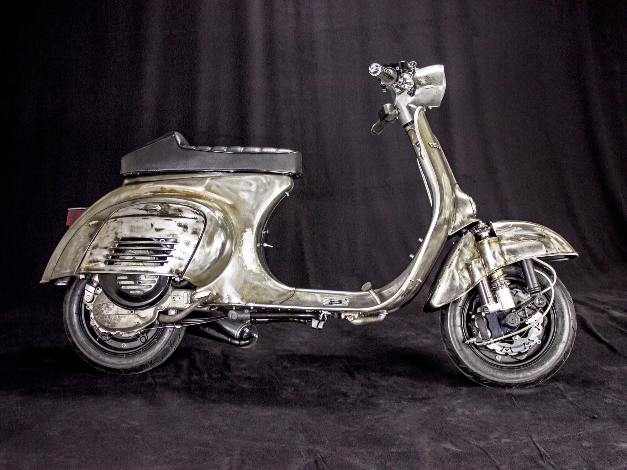 vespa 50 custom