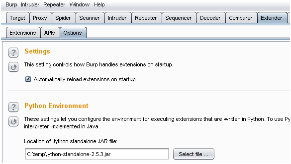 burp extension directory and file listing parser burp site map