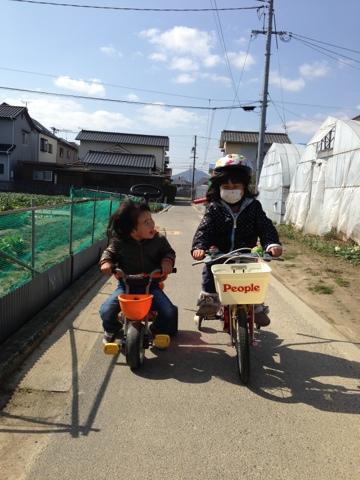 自転車の 自転車 5歳 練習 : ピープルいきなり自転車で練習 ...
